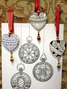 Zentangle: Welcome CZTs from Seminar 22!