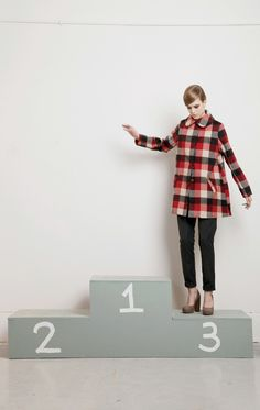 Dace Fall/Winter 2012 collection. I love that there are so many beautiful separates in her new designs!