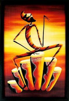 Bongo Drummer 40x60cm  $36.50