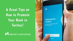 If you want to market your book effectively, then Twitter is a viable choice. With these tips, you will be able to use Twitter to expand your influence as a writer. #bookmarketing #bookpromotion Marketing Process, Marketing Tools, Promotion Strategy, Sell Your Books, Social Media Site, Wasting Time, Get Started, Writer, Motivation