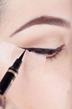 Master liquid eyeliner.