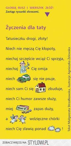 Stylowi.pl - Odkrywaj, kolekcjonuj, kupuj Games For Kids, Diy For Kids, Polish Language, Weekend Humor, School Songs, Card Sentiments, Diy Presents, Man Humor, Inspirational Gifts