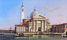 https://flic.kr/p/rckQYH | Canaletto - San Giorgio maggiore with sandalos & gondolas | Canaletto - San Giorgio maggiore with sandalos & gondolas  Private Collection