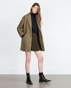 Image 1 of STRUCTURED COAT from Zara