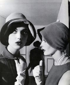 Dorothea & Sara Thom, Vogue 1960 | by dovima2010