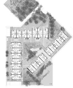 """First Price in the European Architectural Design Competition for """"Community social housing authorities to ECO design"""" – Architecture is art Social Housing Architecture, Architecture Résidentielle, Architecture Concept Drawings, Eco Design, Design Ideas, Plan Design, Architecture Presentation Board, Design Competitions, Building Design"""