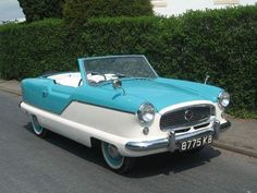 1957 Austin (Nash) Metropolitan Convertible (Also made as a Hardtop) with the Austin OHV and B-Series OHV engines Custom Classic Cars, Classic Cars British, Old Classic Cars, My Dream Car, Dream Cars, Austin Cars, Morris Minor, Smart Car, Old Cars