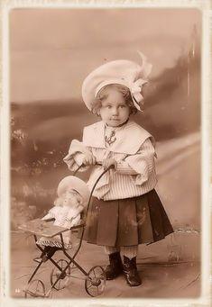 Brocante Brie, bewerkte foto vintage