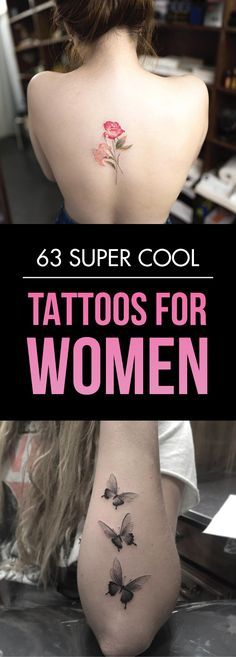 63 Super Cool Tattoos For Women | TattooBlend