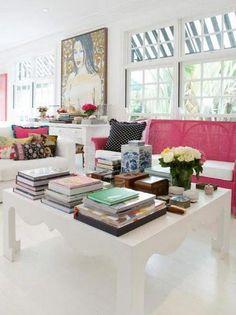 I love coffee table books!!