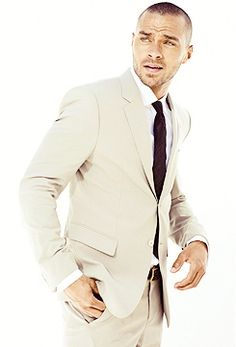jesse williams | love the suite, but especially him in it! What suit!  Yes