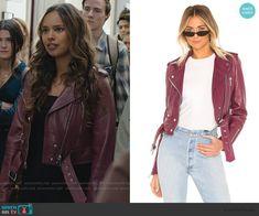 Moto Jacket, Leather Jacket, Alisha Boe, Clothes Rail, Other Outfits, Fashion Beauty, Burgundy, 13 Reasons, Face Claims