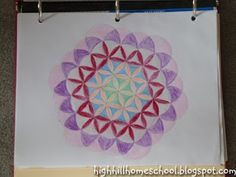 Highhill Homeschool: Math Art - Geometry