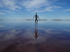 See The 51 Odd Sculptures In Lake Ballard, Australia. Photo by: amandabhslater via Fotopedia