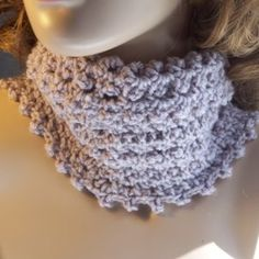 picot-cowl and arm warmer patterns