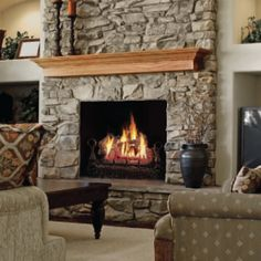 "Napoleon 18"" FiberGlow Vent Free Gas Log Sets"