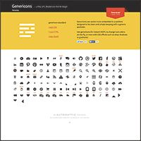 Making Use of the Genericons Font in Your Website