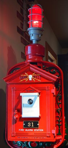 """The Gamewell Fire Alarm at the Pennsylvania National Museum #travel """"Photo by TurnipseedTravel.com"""""""