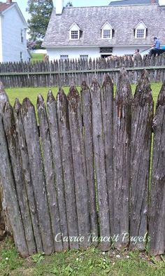 Fence by the McGuilpin house on Mackinac Island.