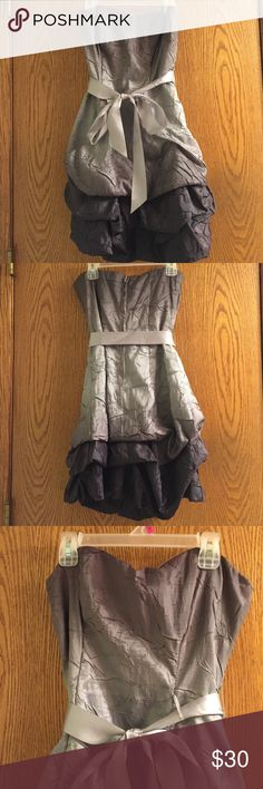 My Michelle Homecoming dress Super adorable gray/purple ombré My Michelle homecoming dress. I absolutely adored this dress!! Size 5. Only worn once.                                     ✔️ BUNDLE: 15% off 2+ items My Michelle Dresses Prom