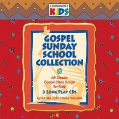 Gospel Sunday School Collection by Cedarmont Kids CD
