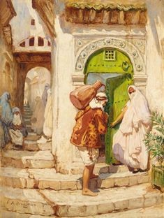 Frederick Arthur Bridgman - The Water Carrier #2