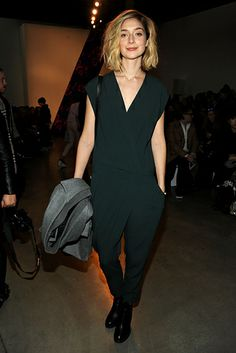 Caitlin Fitzgerald | Check Out All The Celebrities Who Attended New York Fashion Week