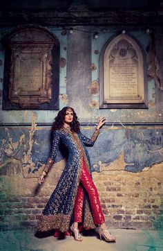 Outfit by Gul's Style (If we all got different colored pants/dupatta with a…