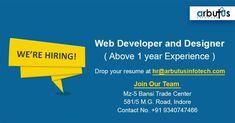 Hiring Poster, Join Our Team, Trade Centre, Web Development, Resume, Cv Design