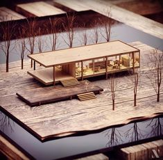 Visit our page for more. Farnsworth House – Mies Van Der Rohe …… model a… Visit our page for more. Farnsworth House – Mies Van Der Rohe …… model and visualization by Carla Emerich Barreto Catuladeira …… to be feature Maquette Architecture, Architecture Model Making, Cultural Architecture, Architecture Old, Futuristic Architecture, Casa Farnsworth, Maison Farnsworth, Architecture Durable, Sustainable Architecture