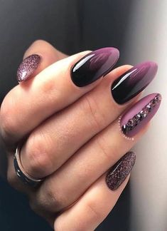 39 Trendy Fall Nails Art Designs Ideas To Look Autumnal and Charming autumn nail art ideas fall nail art short nail art designs autumn nail colors dark nail designs coffin nails Dark Nail Designs, Fall Nail Art Designs, Almond Nails Designs, Toe Designs, Autumn Nails, Winter Nails, Summer Nails, Perfect Nails, Gorgeous Nails