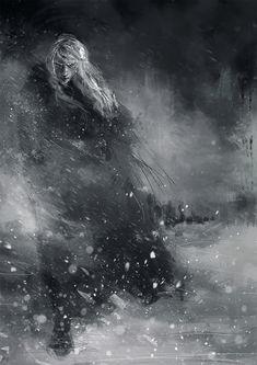 wisesnail:    Finrod crossing the Helcaraxë