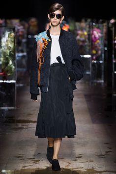 Dries Van Noten Spring 2017 Ready-to-Wear Fashion Show - Mayka Merino