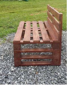 Recycled Pallets, Wooden Pallets, Wooden Diy, Diy Pallet Projects, Pallet Ideas, Wood Projects, Pallet Garden Furniture, Diy Furniture, Outdoor Furniture