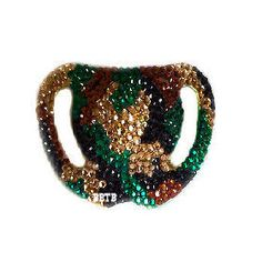 Camouflage Bling Nuk Pacifier -- Baby Bling Things Boutique Online Store