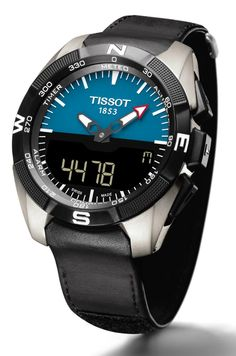 Basel 2015 - Tissot - T-Touch Expert Solar Tissot T Touch, Fine Watches, Cool Watches, Watches For Men, Men's Watches, Jewellery Exhibition, Solar, Fine Men, Casio Watch