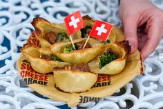 food&crafts: Conchiglie ripiene da passeggio - Swiss Cheese Par...