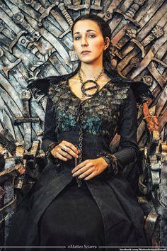 Sansa Stark dress- Game of Thrones costume - Black dress