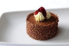 This Black Forest gateau marks a triumphant return for the much loved dessert.