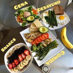 Me gusta, 184 comentarios - Nutriólogo Girón ( en Inst. Fitness Meal Prep, Healthy Meal Prep, Healthy Snacks, Healthy Eating, Healthy Recipes, Keto Recipes, Health Fitness, Comida Diy, Comidas Fitness