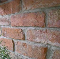 Cegła, Płytka pozyskana z lica starej cegły