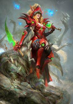 Valeera - World of Warcraft World Of Warcraft Game, Warcraft Art, Warcraft Heroes, Warcraft Characters, Fantasy Characters, Character Art, Character Design, War Craft, Blood Elf