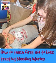 How to Teach first aid to kids