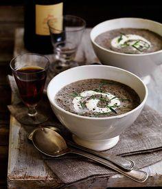 Mushroom soup//