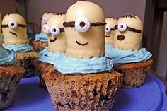 Minions-Cupcakes (Rezept mit Bild) von pastelera_09 | Chefkoch.de