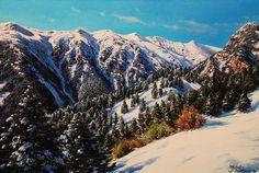 Neu a Vallter (El Ripollès)  oleo sobre tela  55 x 38 cm.