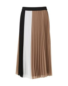 Food, Home, Clothing & General Merchandise available online! Pleated Skirt, Midi Skirt, Color Blocking, Looks Great, Leather Jacket, Skirts, Clothes, Women, Style