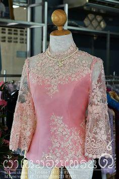 Krbaya Kebaya Lace, Kebaya Dress, Batik Kebaya, Batik Dress, Dress Brukat, Thai Dress, Lace Dress, Model Kebaya, Gala Dresses