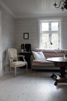 Roll arm sofa white chair