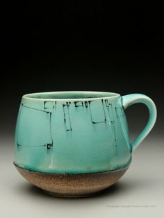 Stephanie Galli Ceramics, Pottery | coffee mug  Thanks for all of the repins! This is crazy, thanks for showing the love-- 1100 repins and growing!